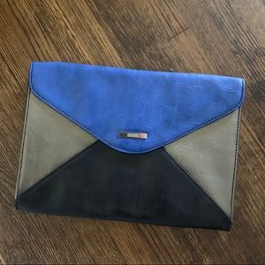 Mock Leather Envelope Clutch Kenneth Cole Reaction